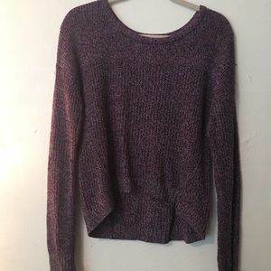 American Eagle: high low sweater